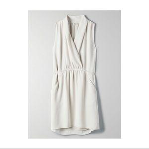 Cream Aritzia dress